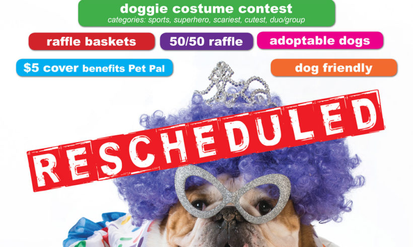 Party for the Paws postponed!
