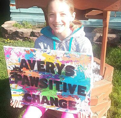 Avery's Pawsitive Change